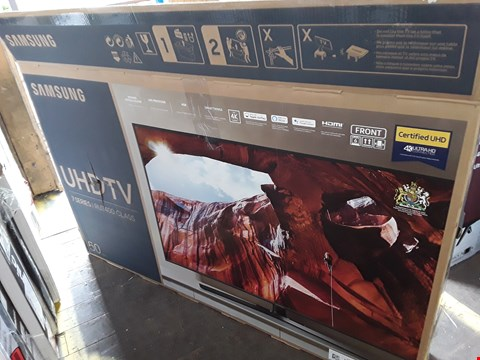 "Lot 1050 SAMSUNG 50"" 7 SERIES UHD TELEVISION MODEL UE50RU7400U"