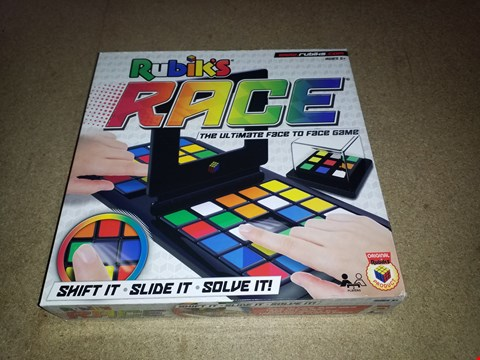 Lot 438 LOT OF 2 BRAND NEW BOXED RUBIK'S RACE THE ULTIMATE FACE TO FACE GAME RRP £64.00
