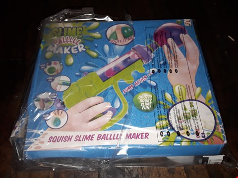 Lot 4060 SQUISH SLIME BALL MAKER RRP £12.99