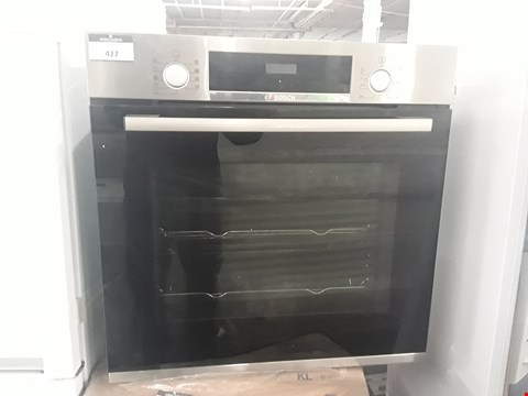 Lot 427 BOSCH SINGLE CAVITY INTEGRATED ELECTRIC OVEN