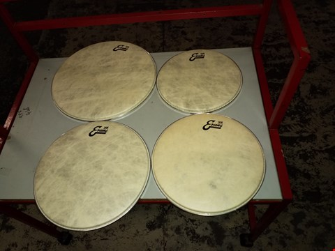 Lot 14006 EVANS CALFTONE DRUM HEADS, ROCK JAZZ SOUND PROFILE