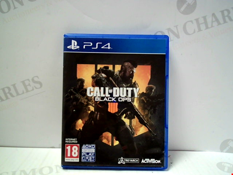 Lot 5711 CALL OF DUTY: BLACK OPS IIII PLAYSTATION 4 GAME