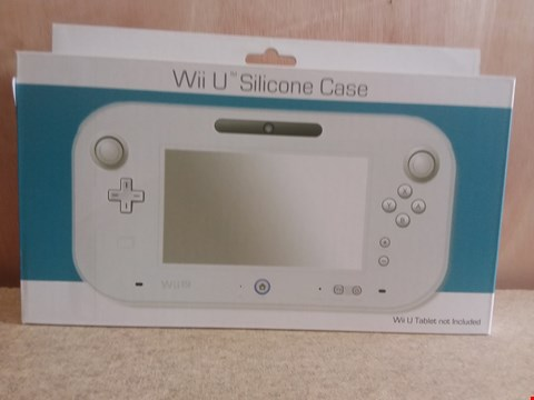 Lot 652 10 BRAND NEW BOXED WII U SILICONE CASES ( WII U TABLET NOT INCLUDED )