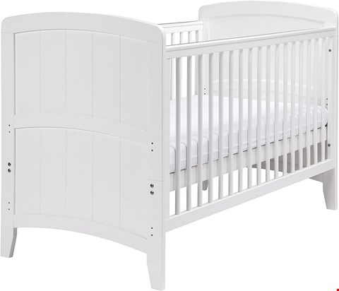 Lot 2081 BOXED GRADE 1 EAST COAST NURSERY VENICE COTBED (WHITE)