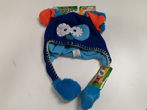 Lot 80 LOT OF 10 AS NEW FLIPEEZ PLAYFUL PUPPY NOVELTY CHILDREN'S HATS - ONE SIZE