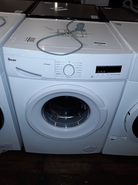 Lot 150 SWAN SW15840W 9KG 1200 SPIN WASHING MACHINE IN WHITE RRP £294.99