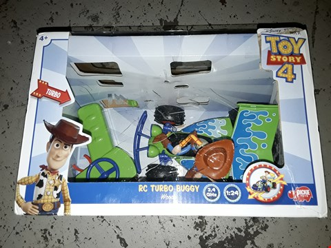 Lot 2244 TOY STORY 4 WOODY BUGGY RRP £34.96