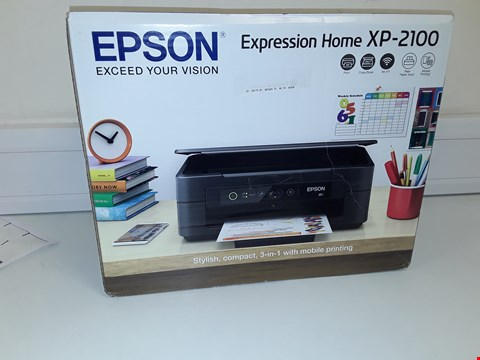 Lot 133 EPSON EXPRESSION HOME XP-2100 PRINTER