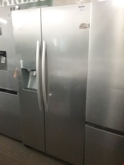 Lot 146 HISENSE RS696N4IC1 91CM WIDE, TOTAL NO FROST, AMERICAN STYLE FRIDGE FREEZER - STAINLESS STEEL LOOK  RRP £1019.00