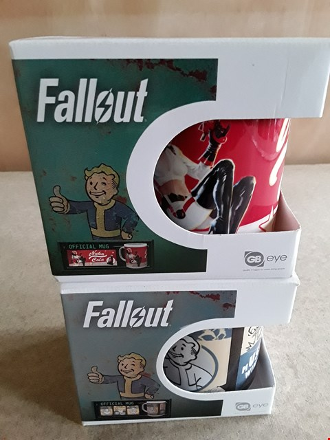 Lot 25 2 BRAND NEW BOXED FALLOUT MUGS