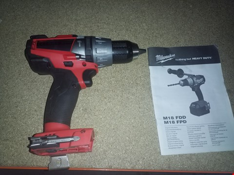 Lot 12506 MILWAUKEE M18 FPD DRILL