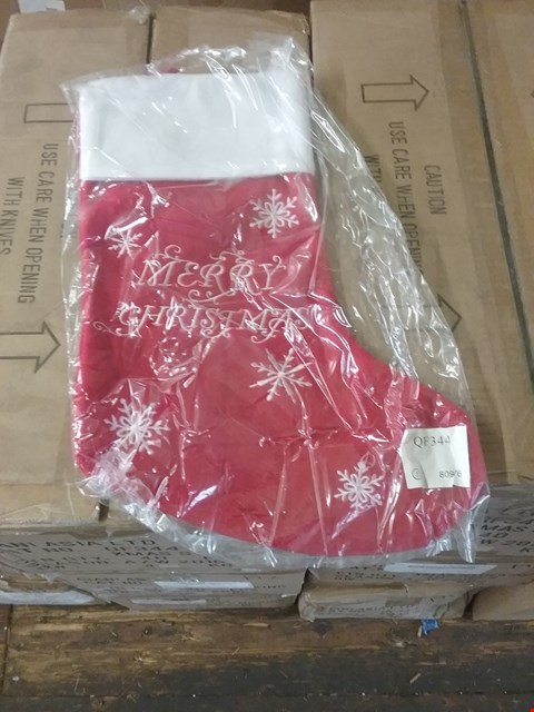 Lot 191 LOT OF APPROX 120 XMAS STOCKINGS (3 BOXES)