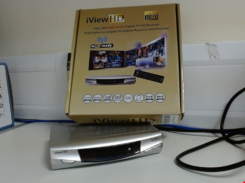 Lot 6529 IVIEW HD DIGITAL HD RECEIVER AND RECORDER