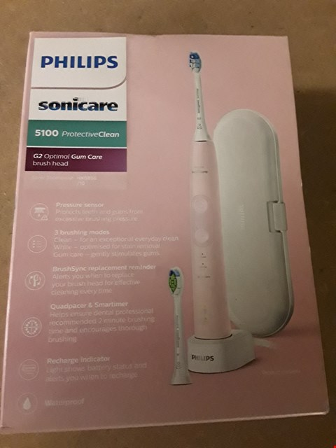 Lot 349 PHILIPS SONICARE 5100 G2 CORDLESS TOOTHBRUSH