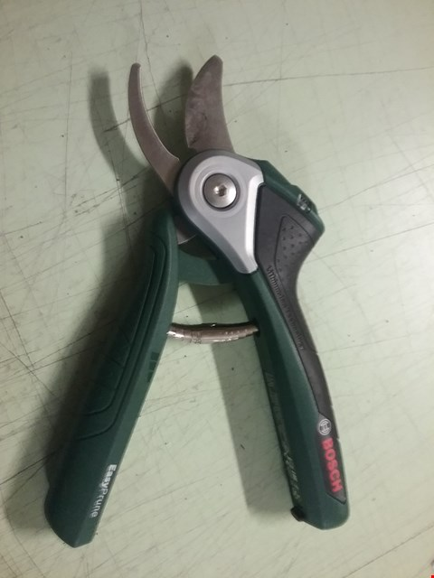 Lot 8258 BOSCH POWER ASSISTED PRUNERS