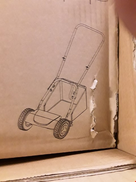 Lot 17593 BOXED HAND PUSH CYLINDER MOWER
