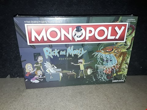 Lot 3022 MONOPOLY RICK AND MORTY EDITION