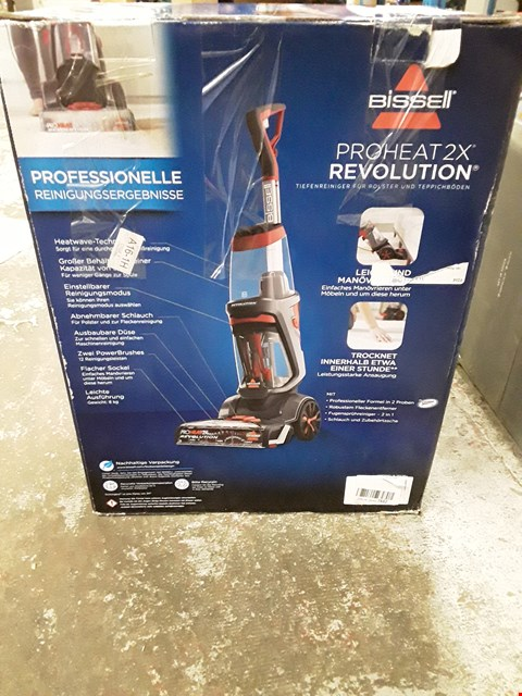 Lot 320 BISSELL PROHEAT 2X REVOLUTION CARPET CLEANER WITH HEATWAVE TECHNOLOGY