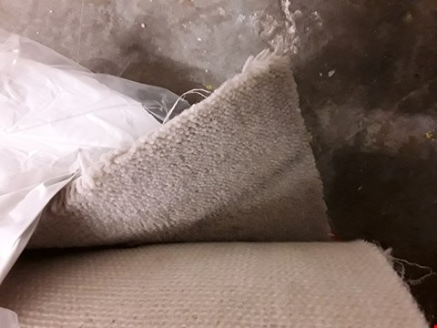 Lot 3009 ROLL OF ROYAL VICTORIA LIGHT GREY CARPET APPROXIMATELY 4.9 X 5M