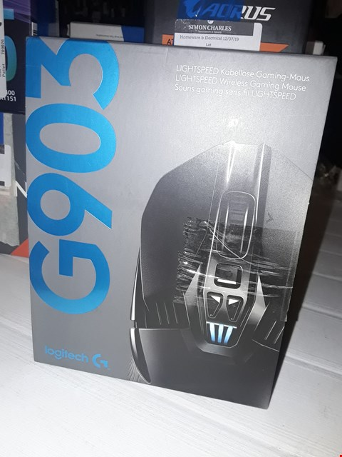 Lot 12412 LOGITECH G903 GAMING MOUSE