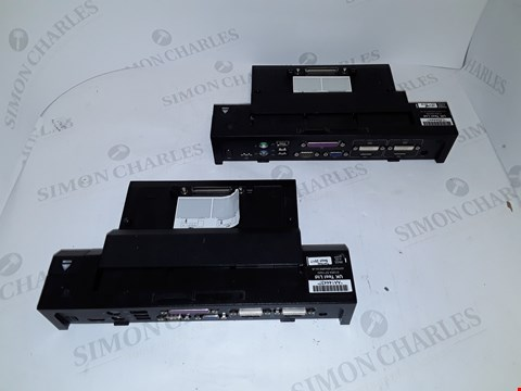 Lot 4132 LOT OF 2 ASSORTED DELL PR02X E-PORT PLUSES