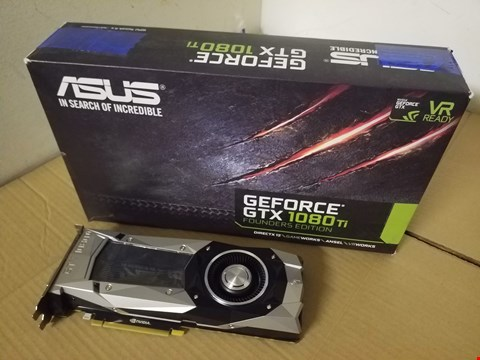 Lot 8015 GEFORCE GTX 1080TI FOUNDERS EDITION