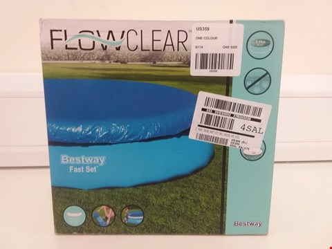 Lot 9016 BOXED 12' POOL COVER FAST SET  RRP £18.00