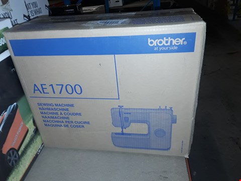 Lot 12602 BROTHER AE1700 SEWING MACHINE