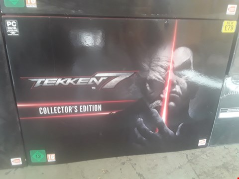 Lot 20A BRAND NEW BOXED TEKKEN 7 COLLECTORS EDITION FOR PC