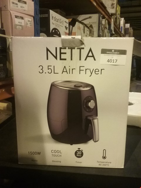 Lot 4017 NETTA 3.5L AIR FRYER