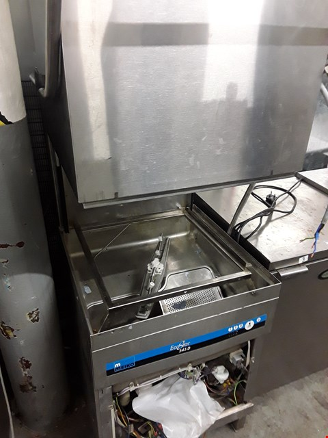 Lot 45 MEIKO ECO STAR 545D PASS THROUGH DISHWASHER