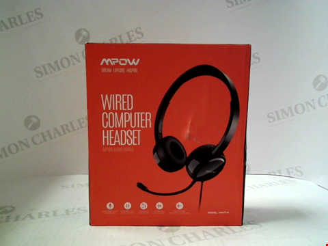 Lot 3042 MPOW WIRED COMPUTER HEADSET PA071A
