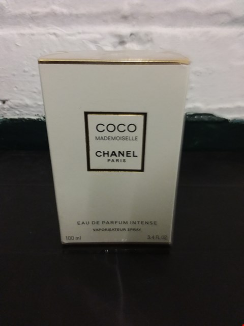 Lot 11024 BOXED CHANEL COCO MADEMOISELLE EAU DE PARFUM 100ML
