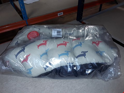 Lot 1382 BRAND NEW CREAM DELI OVAL DOG BED LARGE  RRP £34.99