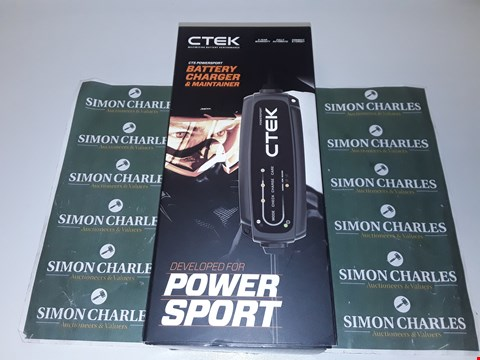 Lot 4045 CTEK CT5 POWERSPORT BATTERY CHARGER AND MAINTAINER