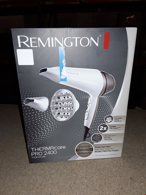 Lot 210 REMINGTON THERMACARE PRO 2400 HAIRDRYER