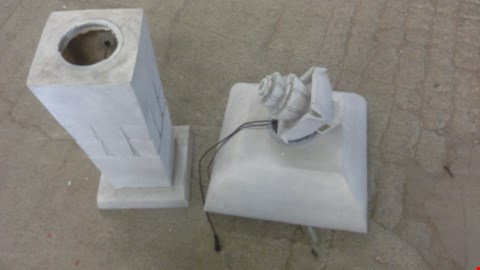 Lot 2047 BERNINI DANCING FOUNTAIN WHITE SQUARE