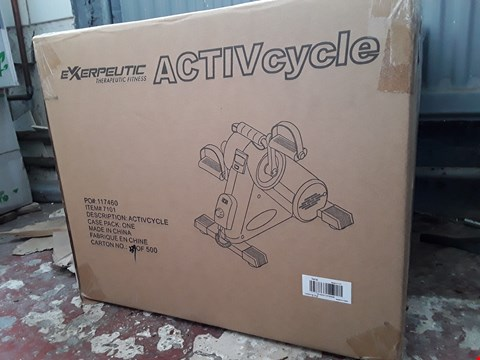 Lot 2072 BRAND NEW BOXED EXERPEUTIC ACTIVCYCLE