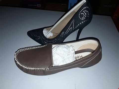 Lot 2161 LOT OF 5 ASSORTED BRAND NEW SHOES TO INCLUDE AX PARIS STUD HEALS ASSORTED SIZES RRP £65