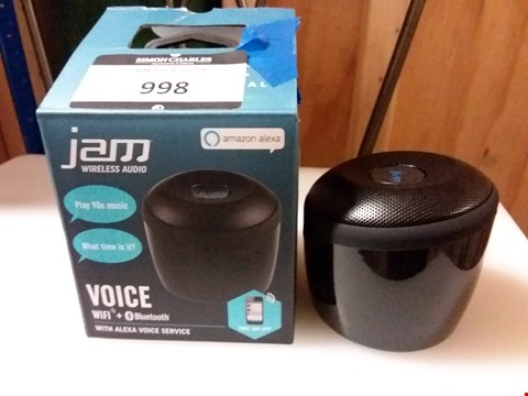 Lot 998 JAM PORTABLE BLUTOOTH SPEAKER