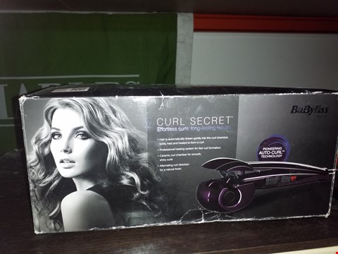 Lot 32 BOXED BABYLISS CURL SECRET STYLER