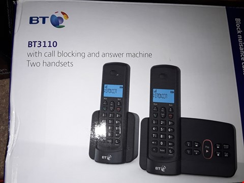Lot 357 BT3110 CORDLESS DIGITAL TELEPHONE  RRP £54.99