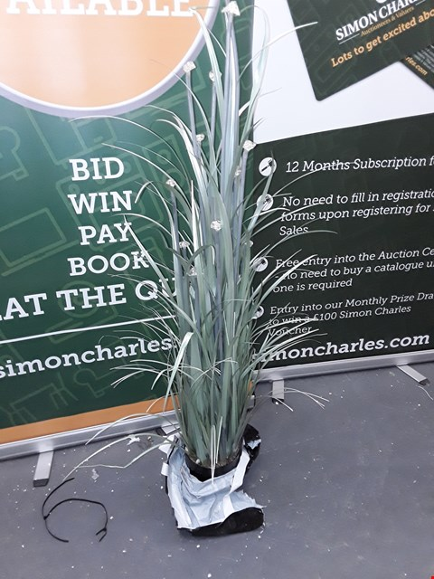 Lot 57 LED ORNAMENTAL GRASS WITH POT