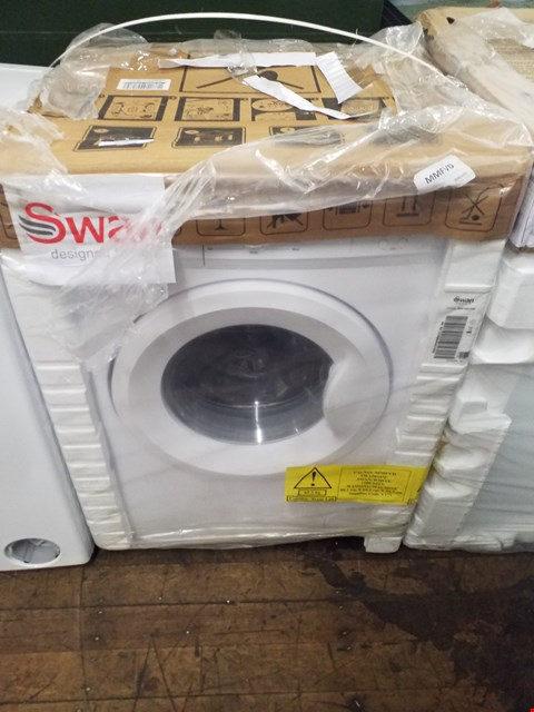 Lot 9053 SWAN SW15810W 6KG 1200 SPIN WASHING MACHINE IN WHITE