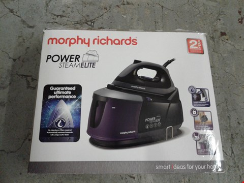 Lot 8307 MORPHY RICHARDS POWER STEAM ELITE STEAM IRON