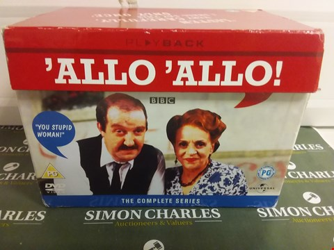 Lot 1069 ALLO ALLO DVD BOX SET