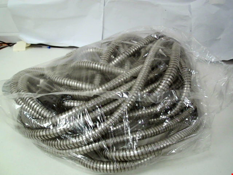 Lot 148 STAINLESS STEEL HOSE WITH SPRAY HEAD - 100FT