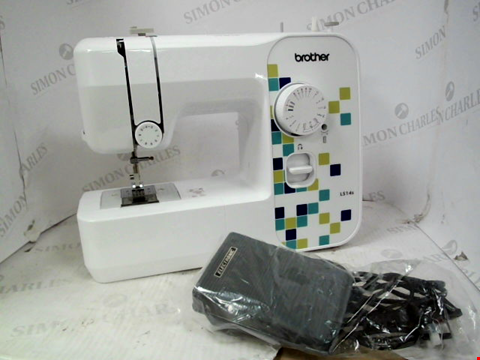 Lot 15260 BROTHER AT YOUR SIDE LS14S COMPACT FREE ARM SEWING MACHINE