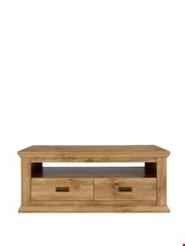 Lot 290 BOXED CLIFTON OAK-EFFECT COFFEE TABLE (1 BOX)  RRP £139.99