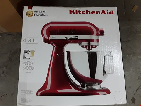 Lot 444 KITCHEN AID 5KSM45BGD STAND MIXER, GRENADINE